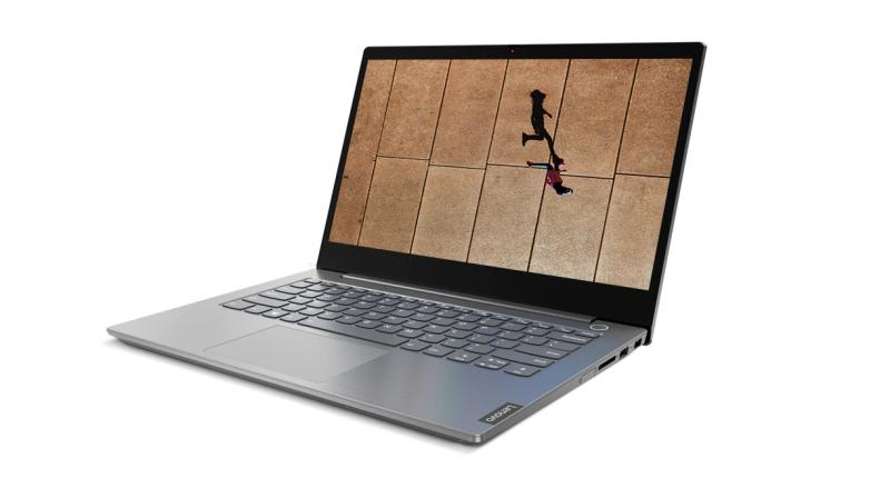 Wrapped in a lightweight anodized aluminium chassis with a sleek Mineral Grey finish, ThinkBook 14 (pictured above) and ThinkBook 15 are purposefully built with zinc-alloy hinges