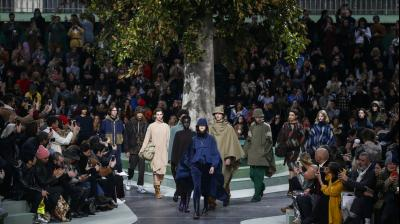Paris Fashion Week is a series of designer presentations held semiannually in Paris, France with spring/summer and autumn/winter events held each year. Dates are determined by the French Fashion Federation. (Photos: AP)