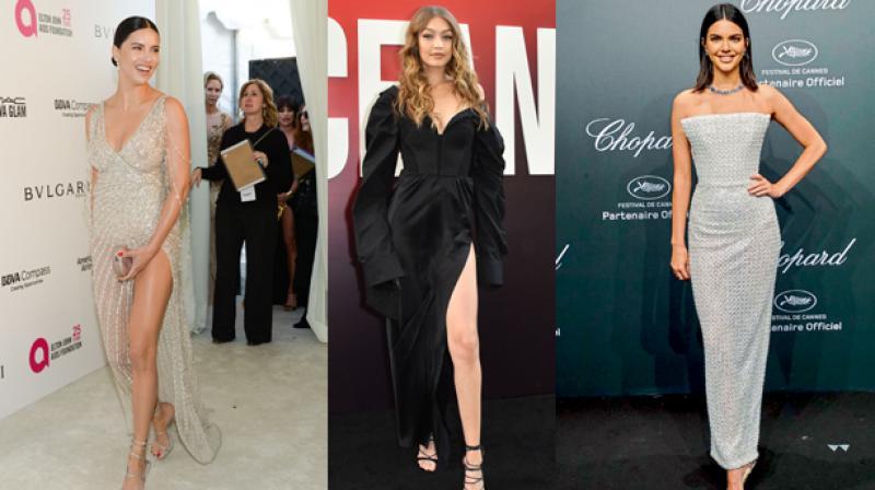 Adriana Lima, Gigi Hadid and Kendall Jenner
