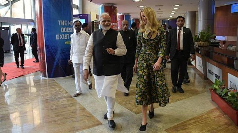 Ivanka to lead American team for business summit in India