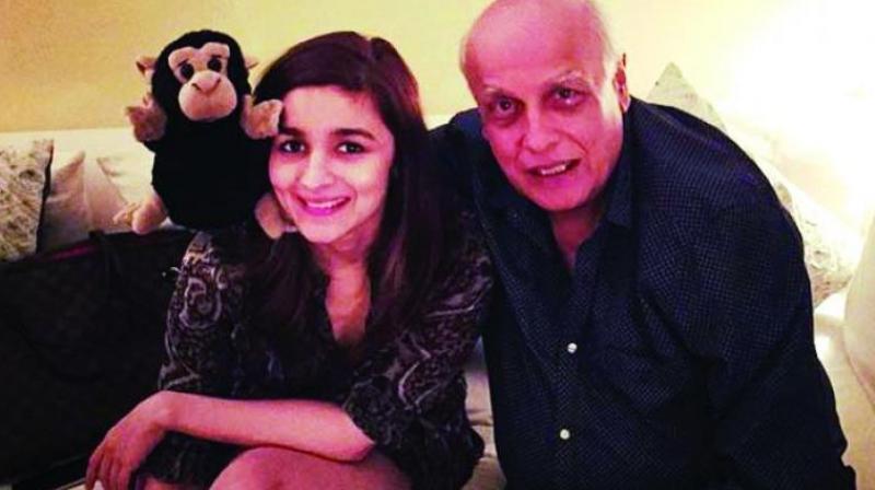 Alia and Mukesh Bhatt
