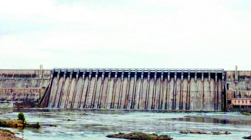 511.9 ft Current water level at Nagarjunasagar