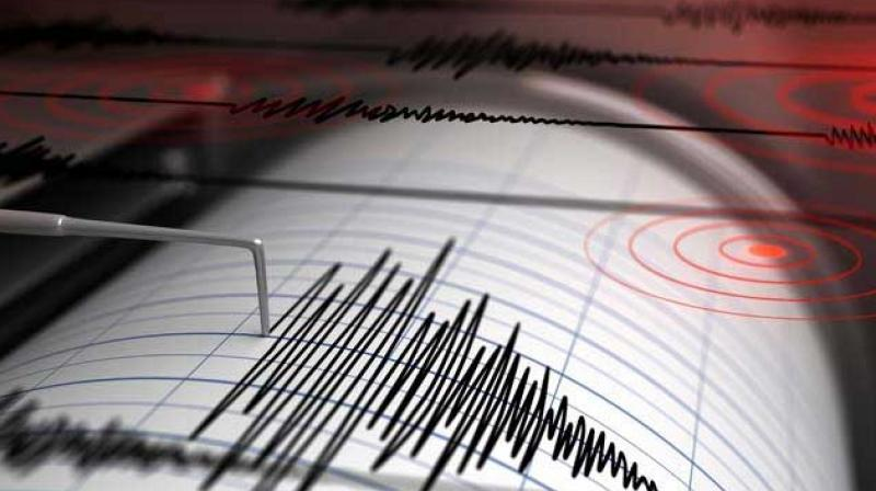 The first quake struck at around 7:47 am with the depth of 10 km, while the second struck at 8:27 am. (Representational Image)