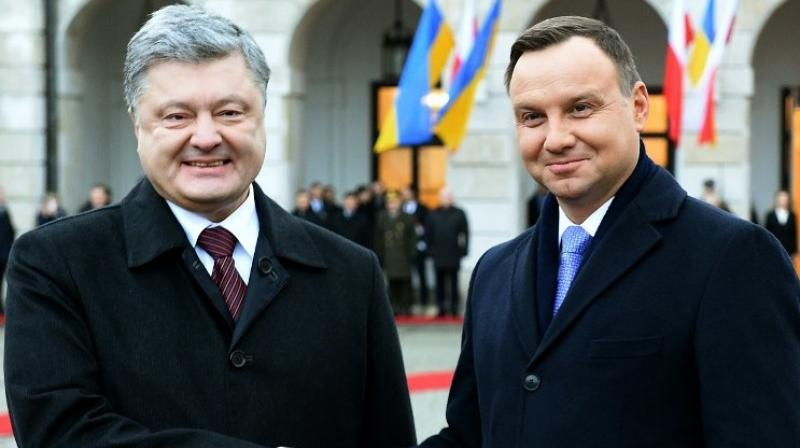 Ukraine, Poland move to mend ties strained by views on WWII