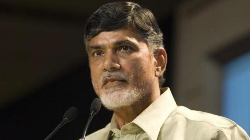 Andhra Pradesh Chief Minister and TDP Chief Chandrababu Naidu