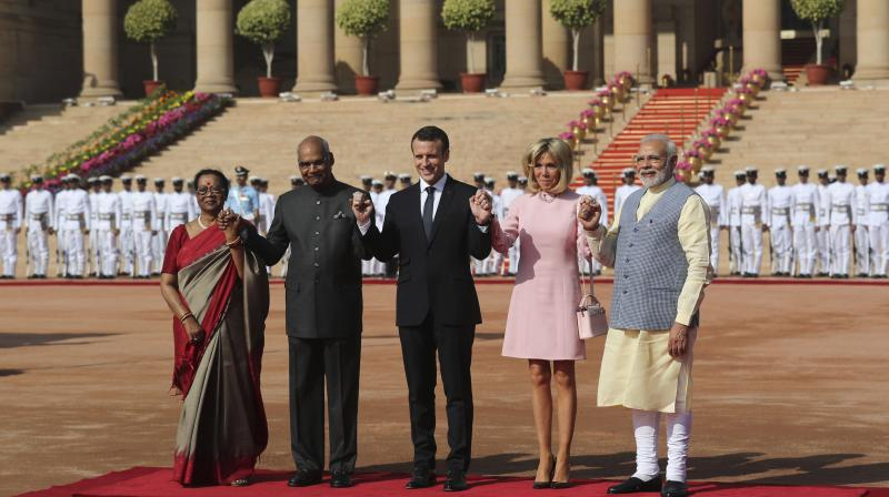 Aim To Make France India S Entry Point To Europe Emmanuel Macron