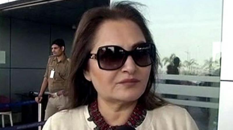 Jaya Prada, who is taking on Khan in this constituency after switching to the BJP just ahead of the polls, said the reason for his animosity against her could be his insecurity. (Photo: File)