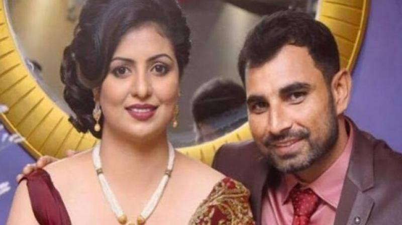The Kolkata Police on Friday booked Mohammed Shami and four others under various non-bailable and bailable sections after Hasin Jahan lodged a complaint of domestic violence and infidelity against the cricketer. (Photo: PTI)