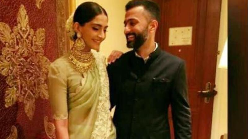 Sonam Kapoor with Anand Ahuja.