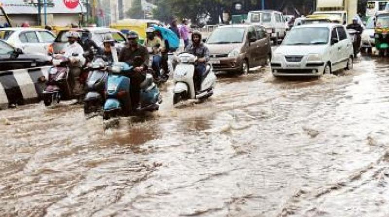 The locality has schools and whenever it rains, parents and students have to wade through knee-high water, said the residents of the locality. (Representional Image)