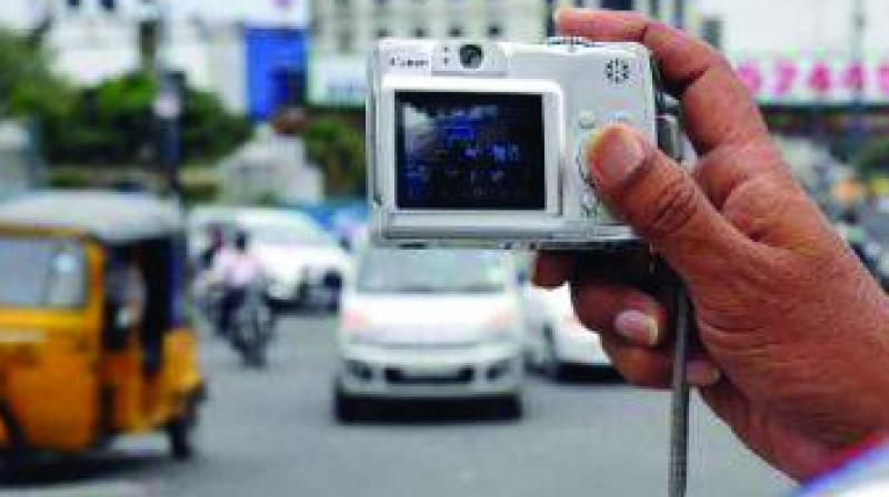 The department also witnessed a substantial increase in violations like triple riding, wrong-side driving, driving with improper or no number plates and the use of cellphones while driving.