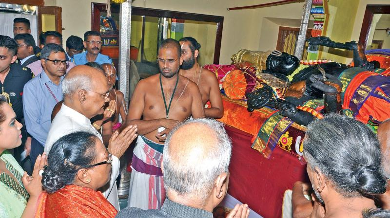 The deity was raised from the Pushkarani on June 27 and the darshan has been open for 48 days from that day, drawing millions of devotees from far and wide.