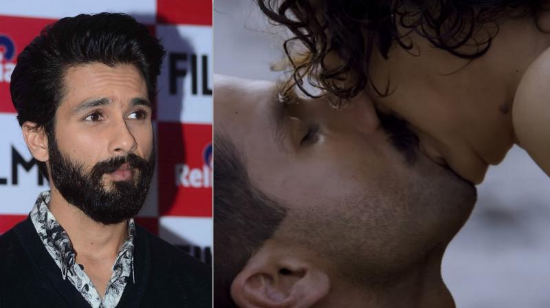 Shahid Kapoor on kissing Kangana Ranaut in Rangoon.