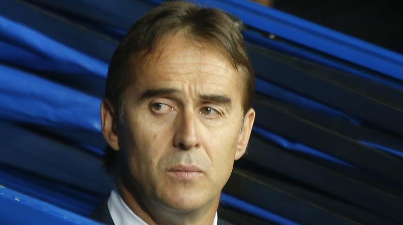 Julen Lopetegui's brief and inglorious reign as Real Madrid coach lasted just 139 days after the club confirmed he had been sacked on Monday. (Photo: AP)
