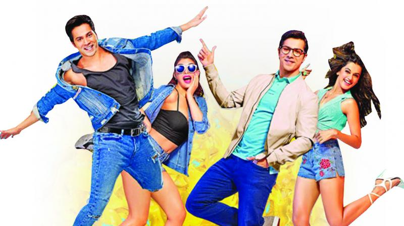 Judwaa 2, which arrives 20 years after Salman Khan romanced both Rambha and Karisma Kapoor in a movie its producer Sajid Nadiadwala had dedicated to Divya Bharti, is like those bad photocopies which are slightly skewed, with some bits hazy and others simply garbled.