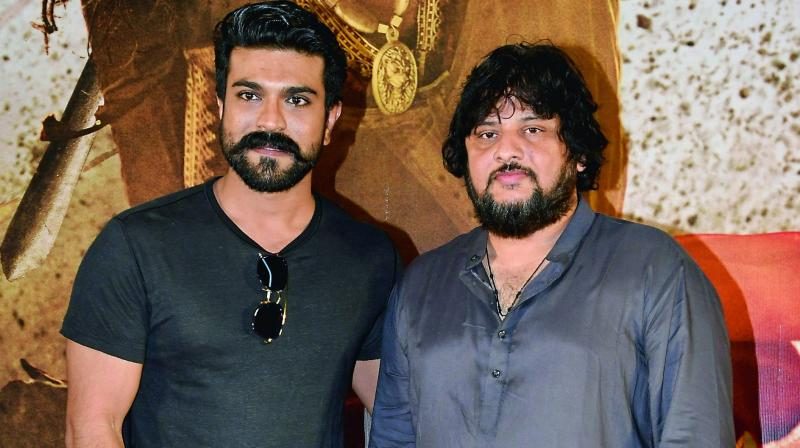 Ram Charan with director Surender Reddy