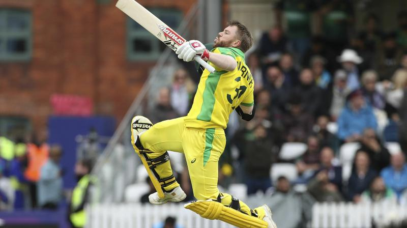 Conditions were testing and up against a quality attack, David Warner had to be cautious after Pakistan put Australia in. (Photo: AFP)