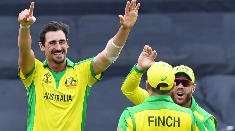A struggling middle order and a lack of support for the main pace duo of Mitchell Starc and Pat Cummins have emerged as Australia's main concerns in the early days of the World Cup, but the team are currently second in the overall standings. (Photo: AFP)