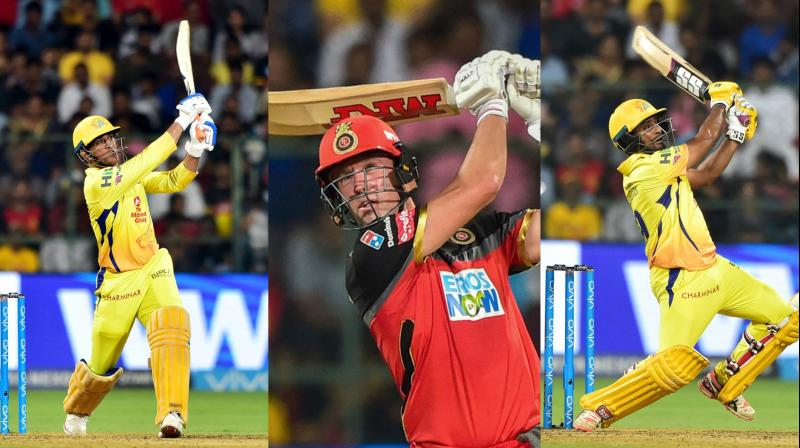 Royal Challengers Bangalore and Chennai Super Kings hit 33 sixes in all – 17 for CSK – in the dramatic game beating the 31 in one IPL game set by Chennai and Kolkata Knight Riders earlier this month and Delhi Daredevils and Gujarat Lions in 2017. (P