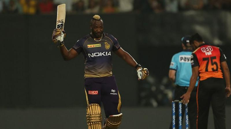 Kolkata Knight Riders (KKR) kicked off their Indian Premier League (IPL) campaign in style as they beat Sunrisers Hyderabad (SRH) by six wickets, thanks to an unbeaten 49 off 19 balls by Andre Russell. (Photo: BCCI)