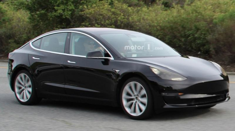 The Model 3 will be Tesla's first product to enter the Indian market.