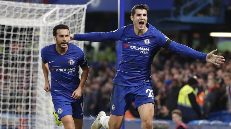 In seven seasons, including three at Real and two each at Chelsea and Juve, Morata made 97 appearances as a substitute and only 84 in the starting line-up. (Photo: AP)