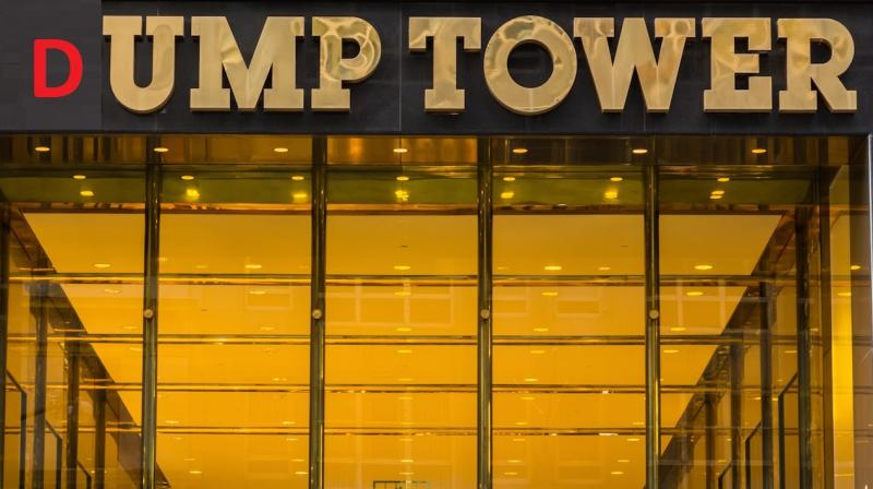 Someone renamed Donald Trump's midtown Manhattan building on Google Maps. (representational image)