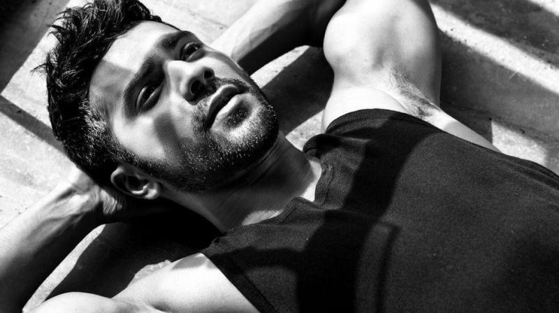 Varun Dhawan in a photoshoot.