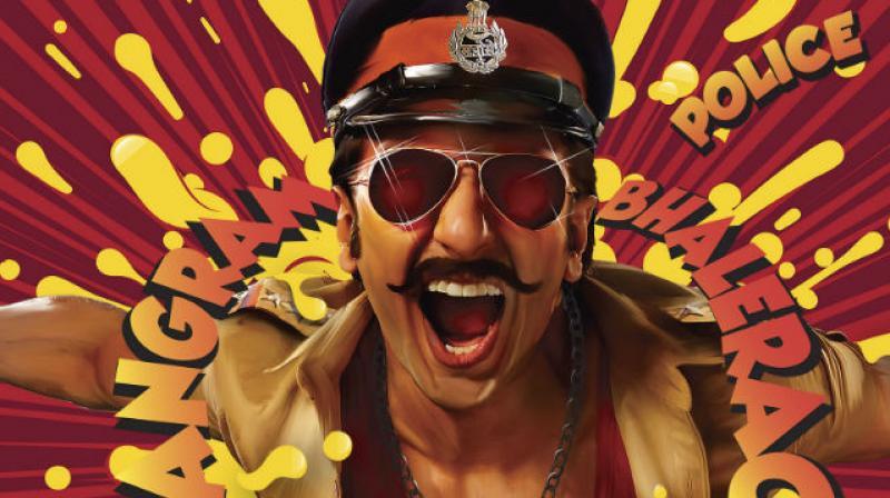 Ranveer Singh on 'Simmba' poster