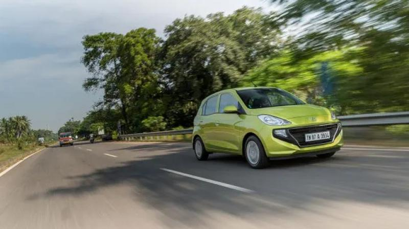 Santro seems to have been well received as it now commands a  three-month waiting period. It's available with a petrol engine as well as a CNG option.