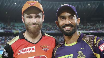 It will be all to play for when Kolkata Knight Riders (KKR) host Sunrisers Hyderabad (SRH) in the second qualifier of the Indian Premier League (IPL) on Friday. (Photo: BCCI)