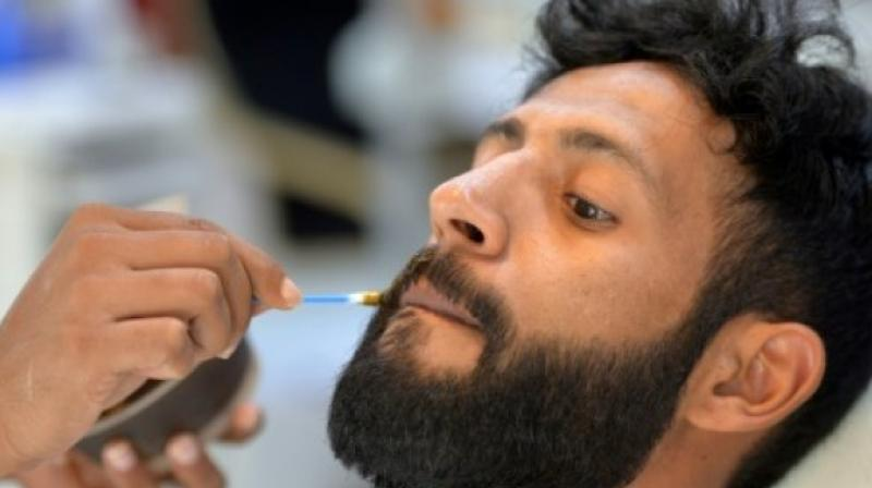 The hairdressers after a detailed discussion with the Islamic scholars decided to ban stylish beards (Photo: AFP)