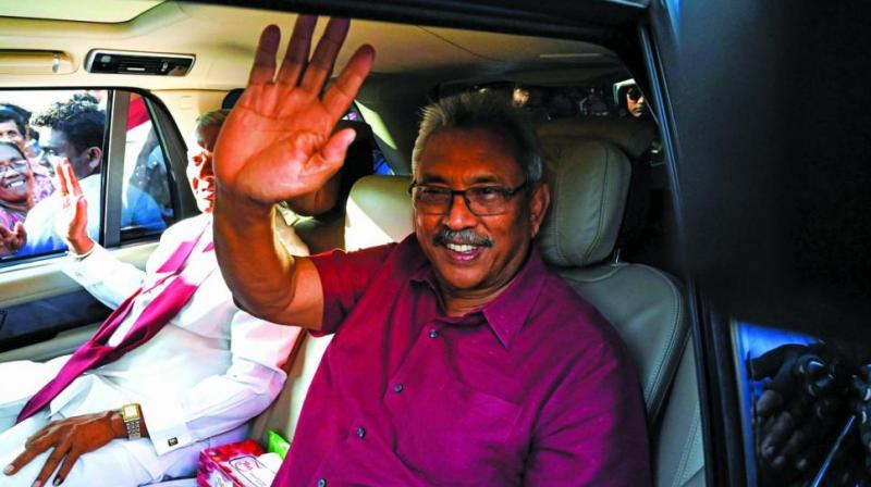 Rajapaksa said he wanted to work very closely with both India and China. (Photo: File)