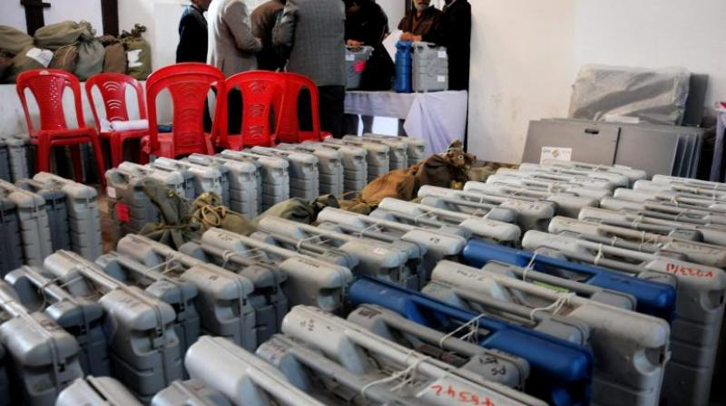 An Election Commission's directive restricting selling of EVMs by two designated public sector undertakings was objected to by state election commissions, according to minutes of a recent conference of State Election Commissioners accessed through RTI. (Photo: File)