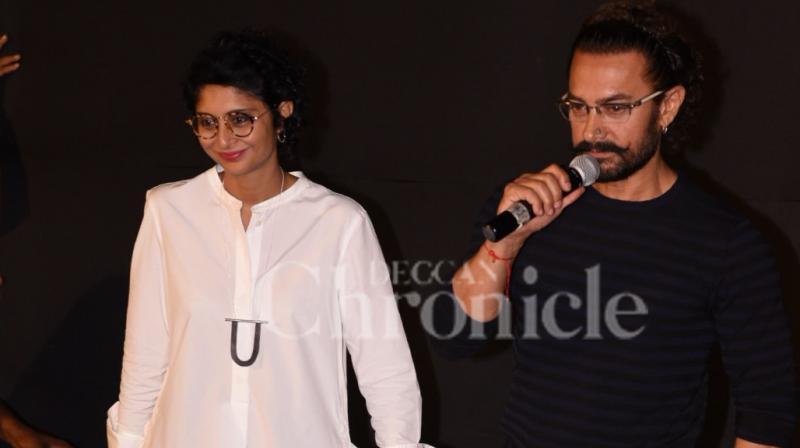 Kiran Rao and Aamir Khan. While talking about Aamir's character in 'Secret Superstar', Kiran was one of the many people who did not want him to don the role of a 'creepy musician'.