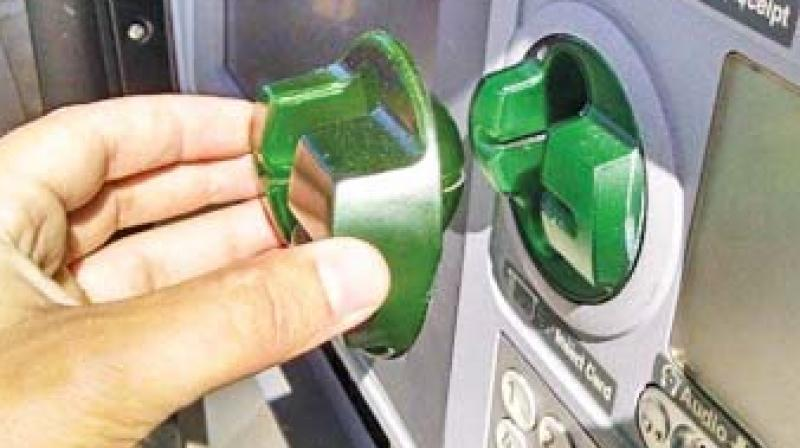 Chennai: Alert customer detects skimmer device in ATM