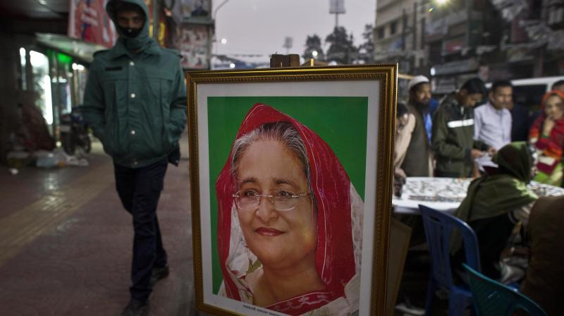 'People will cast their vote for Awami League to ensure the win of pro-Liberation forces,' Hasina said. (Photo: File | AP)
