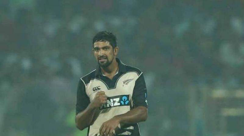 Ish Sodhi was part of the Black Caps squad that came for the World T20 Championship last year and had also spent quite a bit of time prior to the series by touring India with the New Zealand A squad.(Photo: BCCI)