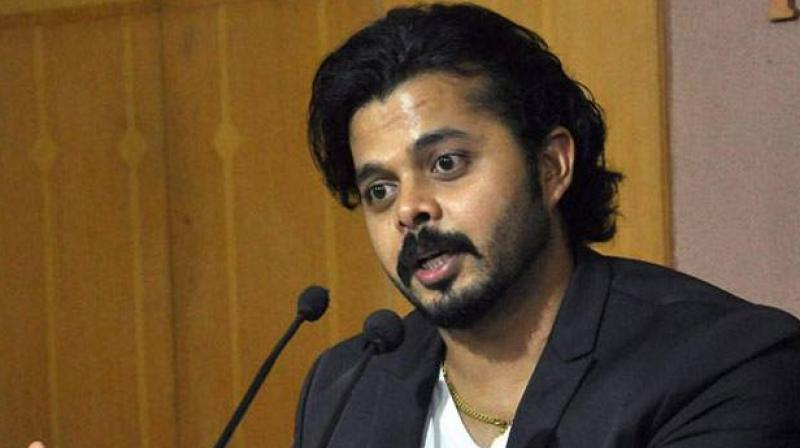Sreesanth was banned for life following allegations of spot-fixing during an IPL match in 2013.(Photo: PTI)