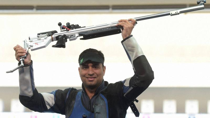 Shooters Rajput, Chain enter CWG final