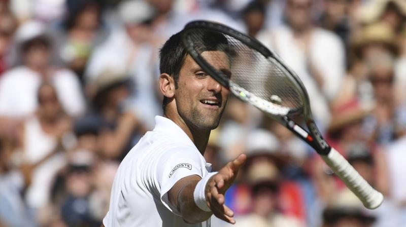Serb Djokovic, whose last stay in the top 10 dates back to October 2017, is hoping his 13th grand slam title will mark a turning point after a difficult two years marked by loss of motivation, personal issues and niggling injuries. (Photo: AP)