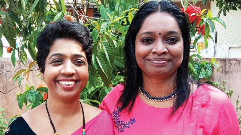 Shalin John and Induja Nair