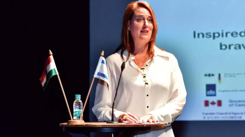"""Beyond Duty, which opened on May 2, marked Holocaust Remembrance Day in Israel. And at the heart of it is Dana Kursh, the Israeli Consul General in  Bengaluru. """"It's about being inspired by the stories of the Holocaust and how the lessons we learned wil help train the next generation of leaders, persuading them to act beyond the call of duty."""" For Consul-General Kursh, this is a long-cherished goal."""