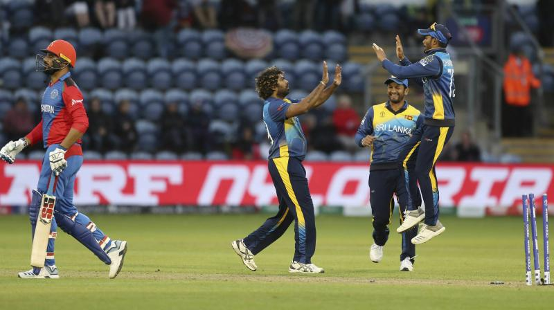 Sri Lanka made sure that victory did not come at their expense as Lasith Malinga bowled Hamid Hassan with a yorker four balls later.