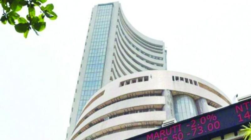 The NSE Nifty too witnessed similar movement, and was trading 8.30 points, or 0.08 per cent, lower at 10,846.85.