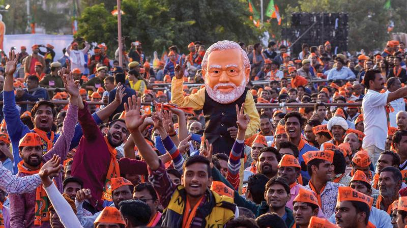 In the 2014 general elections, the BJP had won 71 Lok Sabha seats in the state and two other went to its ally - the Apna Dal. (Photo: File   PTI)