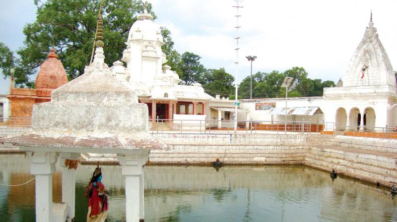 Narmada Udgam Temple.