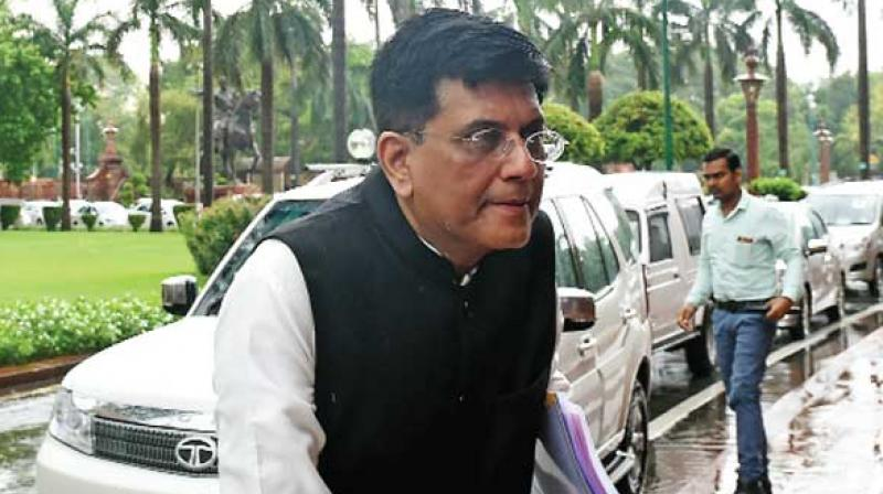 Interim Finance Minister Piyush Goyal.
