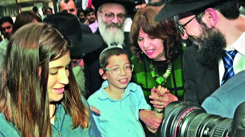 Baby Moshe, Israeli Boy Who Survived 26/11 Carnage, Visits Mumbai Today