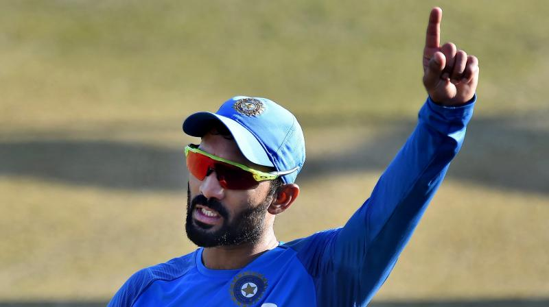 Karthik hopes to lead from front